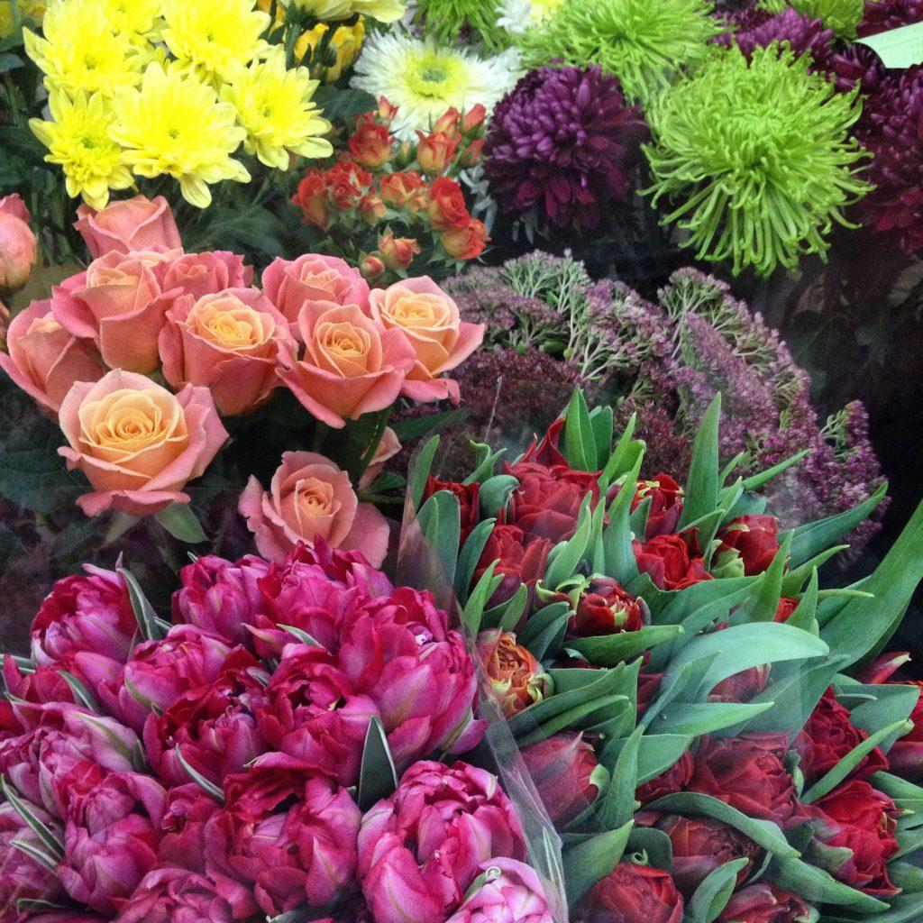 В цветочной мастерской Via dei fiori